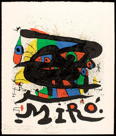 Joan Miró, 'Untitled', 1971