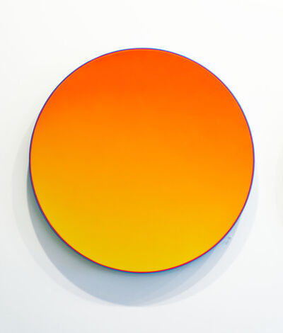 "Jan Kaláb, '""Yellow Gradient""', 2018"