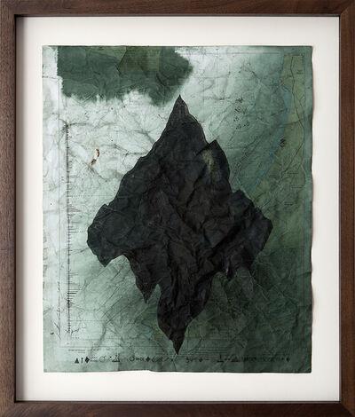 Jonathan Goldman, 'No Land Map #8', 2016