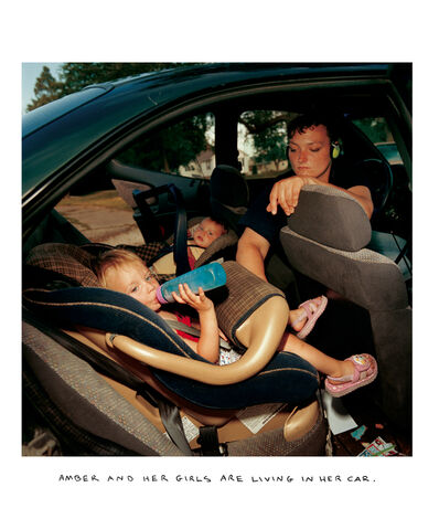 Chris Verene, 'AMBER ANDHER GIRLS ARE LIVING IN THE CAR', 2006