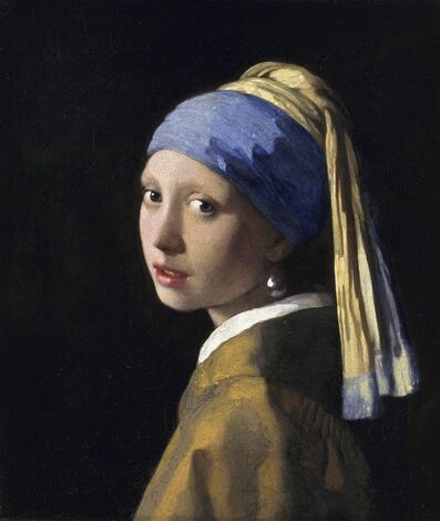 Johannes Vermeer, 'Girl with a Pearl Earring', ca. 1665