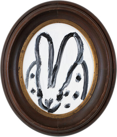 Hunt Slonem, 'Untitled (Oval Spotted Bunny)', 2020