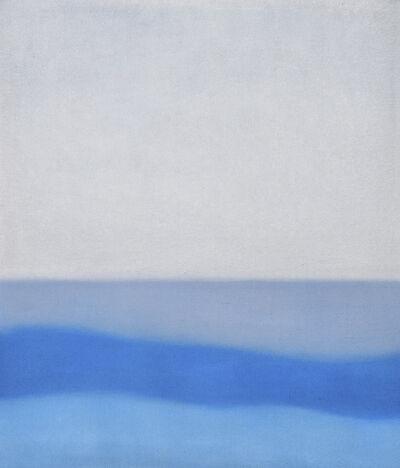 Susan Vecsey, 'Untitled (White/Turquoise)', 2019