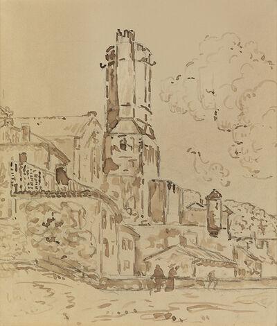 Paul Signac, 'Viviers: Vallée du Rhône'