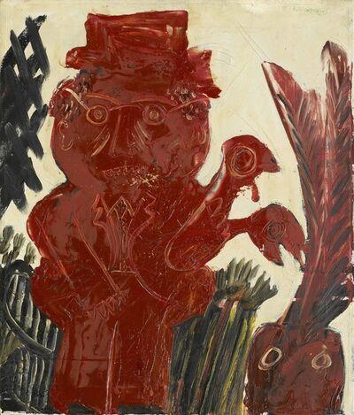 Alekos Fassianos, 'Man's Figure', 1960