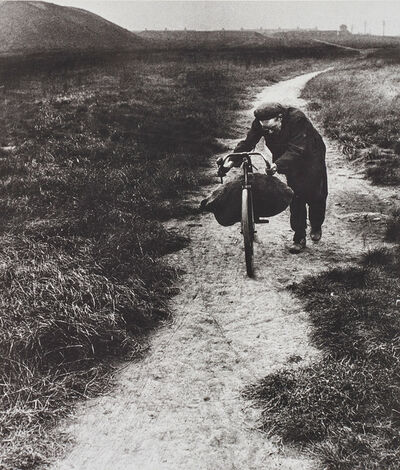 Bill Brandt, 'Coal-Searcher Going Home to Jarrow', 1937