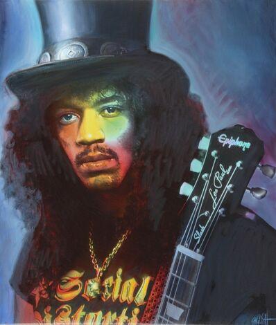 Ron English, 'Slash Hendrix', 2019
