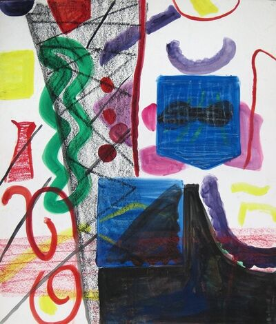 Shirley Jaffe, 'Untitled #51'