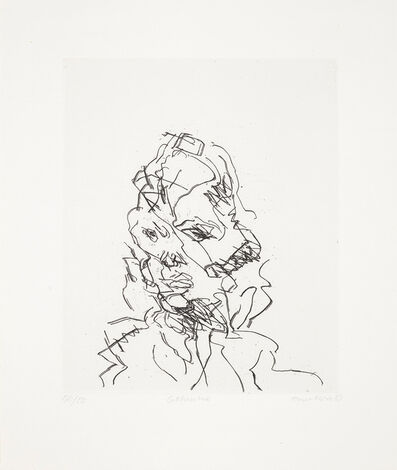 Frank Auerbach, 'Catherine, from Seven Portraits', 1989-90