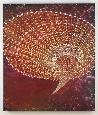 Barbara Takenaga, 'Red Funnel II', 2014