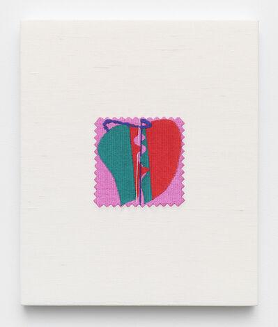 Elaine Reichek, 'Swatch, Murray', 2006