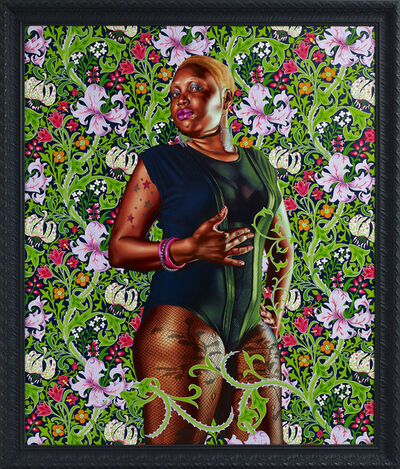 Kehinde Wiley, 'Portrait of Mary Hill, Lady Killgrew', 2013