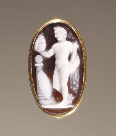 'Cameo Gem set into a Ring',  25 B.C. -A.D. 25