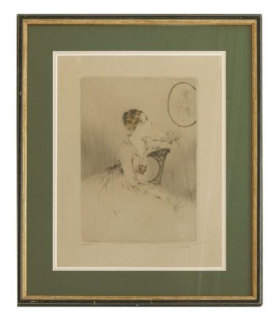 Louis Icart, 'THE LETTER'