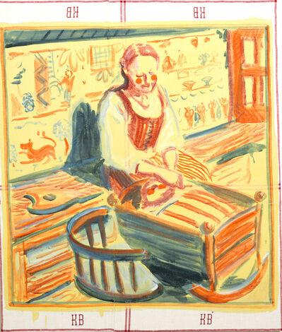 Sigrid Holmwood, 'Museum Girl with Doll (Museum flicka med docka)', 2013