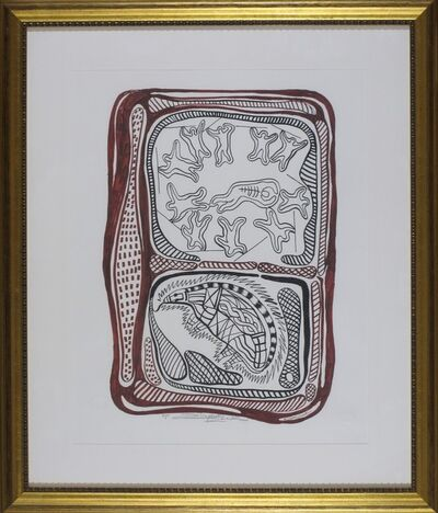 Elizabeth Durack, 'Piggi-Billa Porcupine', 1999