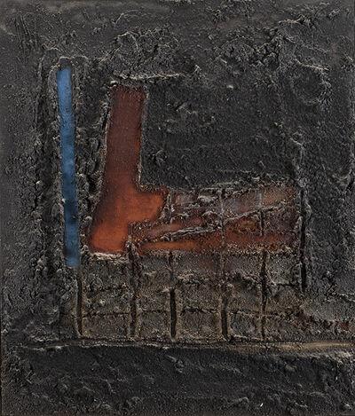 Enrico Donati, 'I 2 versi, linea - quadro', 1954