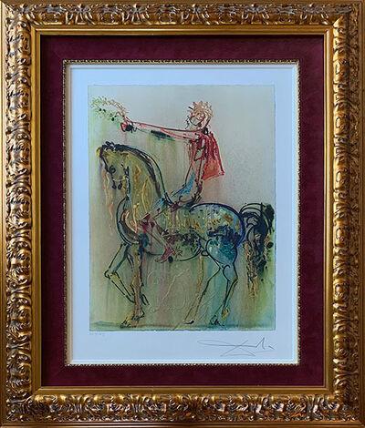 Salvador Dalí, 'The Roman Cavalier - Le Chevalier Roman ', ca. 1972