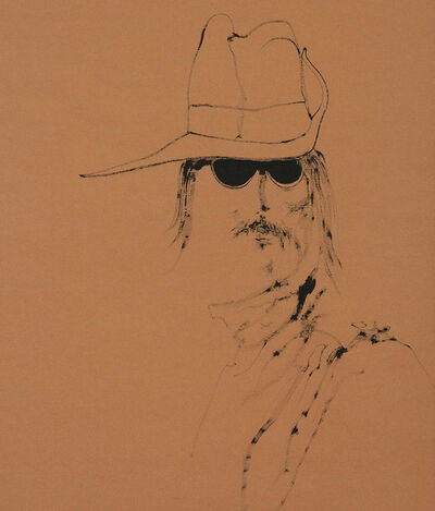 Harold Town, 'Hippie with a Digger Hat', 1968