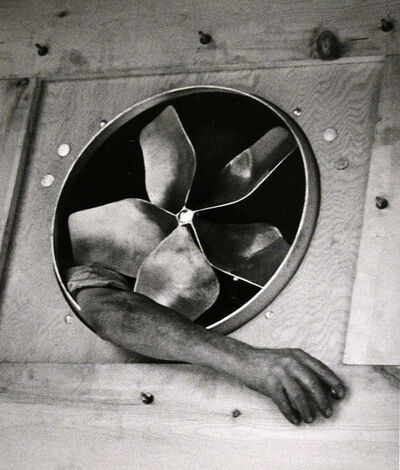 André Kertész, 'Arm and Ventilator, New York', 1937