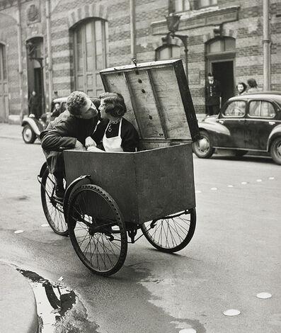 Robert Doisneau, 'Le baiser blotto', 1950