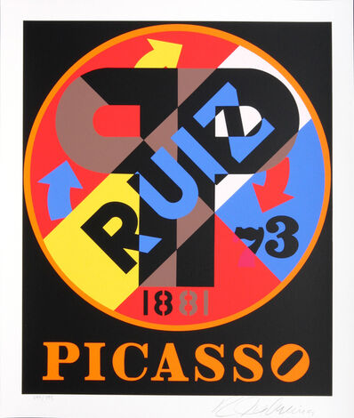 Robert Indiana, 'Picasso ', 1998
