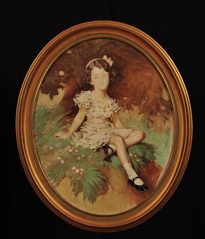 Joseph Christian Leyendecker, 'Study of Little Girl'