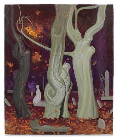 Inka Essenhigh, 'Old Trees in Fall', 2018