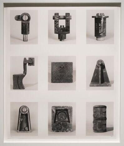 Stanley Greenberg, 'Nine Forms (from Brooklyn Bridges)', 2006
