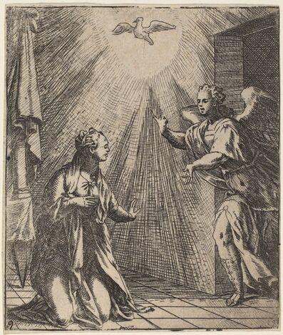 Giovanni Battista Fontana, 'The Annunciation'