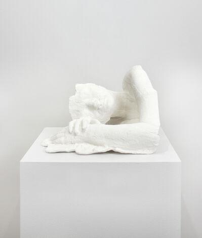 George Segal, 'Fragment: Girl Resting', 1970