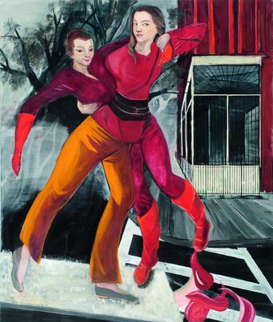 Rosa Loy, 'Die andere Seite', 2009