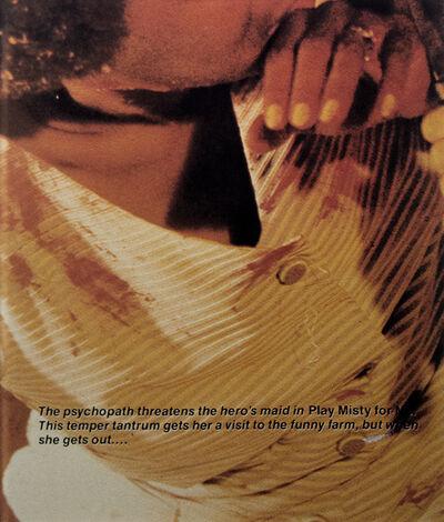 Richard Prince, 'Psychopath', 1986