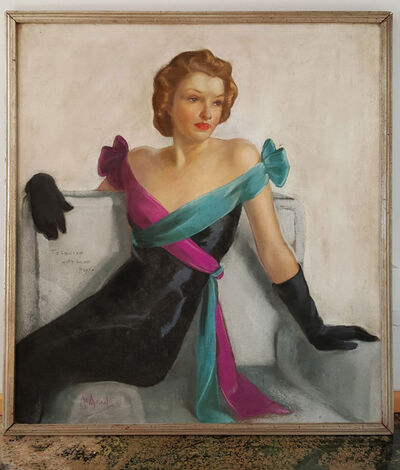 Neysa McMein, 'Saturday Evening Post Cover, Evening Gown May 21st, 1938', 1938