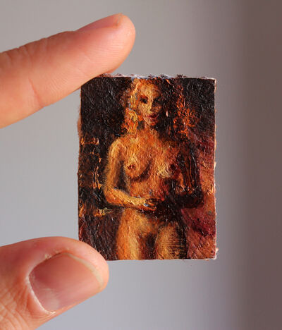 Jorge Diezma, 'Golden Nude', 2020
