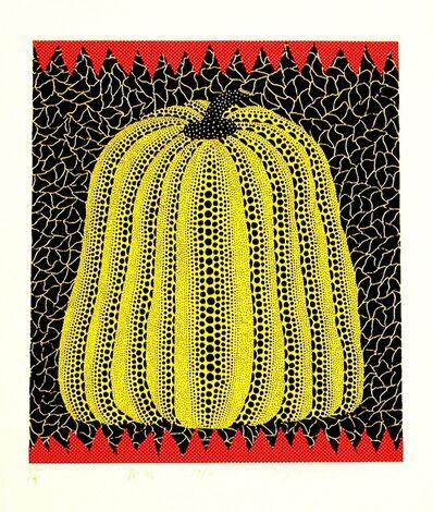 Yayoi Kusama, 'Yellow Pumpkin', 1982