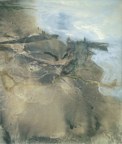 Michael Andrews, 'Thames Painting: The Estuary', 1994-1995