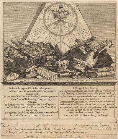 William Hogarth, 'Crowns, Mitres, Maces, Etc.', 1754