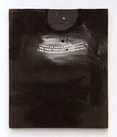 Richard Prince, 'Untitled (Tell Me Everything...)', 1987