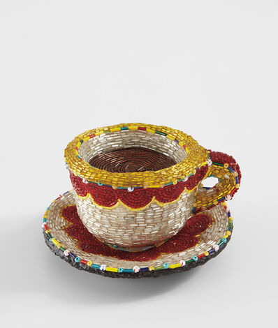 Liza Lou, 'Cup and Saucer', 1999