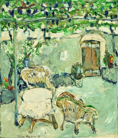 SRĐAN VUKČEVIĆ, 'A Garden', 1986