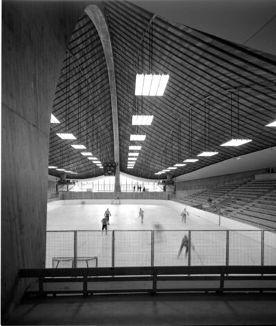 Pedro E. Guerrero, 'Yale Skating Rink, New Haven, CT (Eero Sarinen, Architect)', 1958