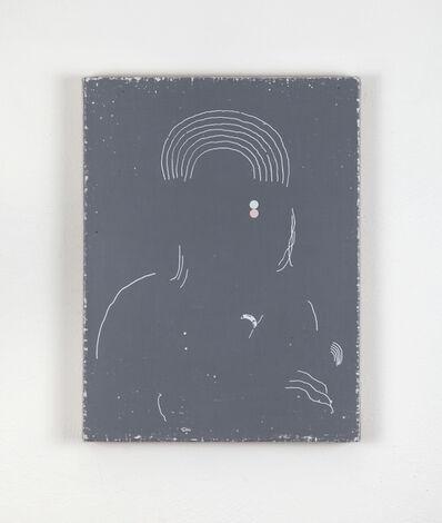 Andrea Carpita, 'Minimum Portraid (Soaked in bleach)', 2017