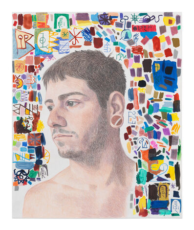 Elijah Burgher, 'Anthony (New Career in a New Town)', 2016