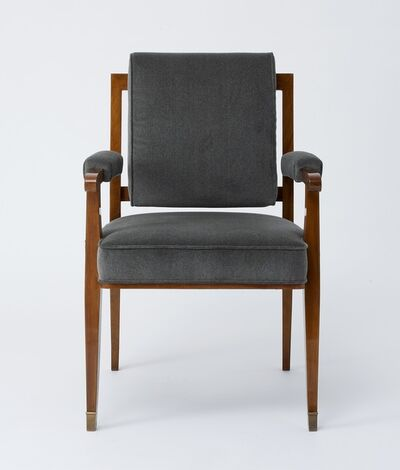Maison Leleu, 'Set of Eight Armchairs', 1957
