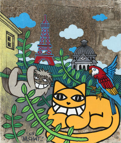 M. Chat, 'Nouveaux emblèmes', 2020
