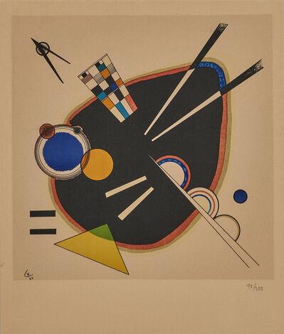 Wassily Kandinsky, 'A Tache Noir', 1924