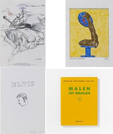 Martin Kippenberger, 'Malen ist Wahlen', 1990 and 1992