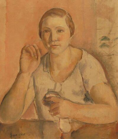 Joaquim Sunyer, 'Mujer', 1927