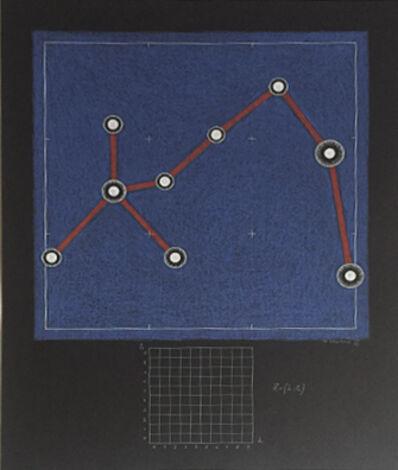 Alexander Pankin, 'Max Planck Constellation (part of diptyh)'